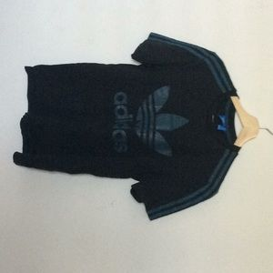 Blue adidas originals tee